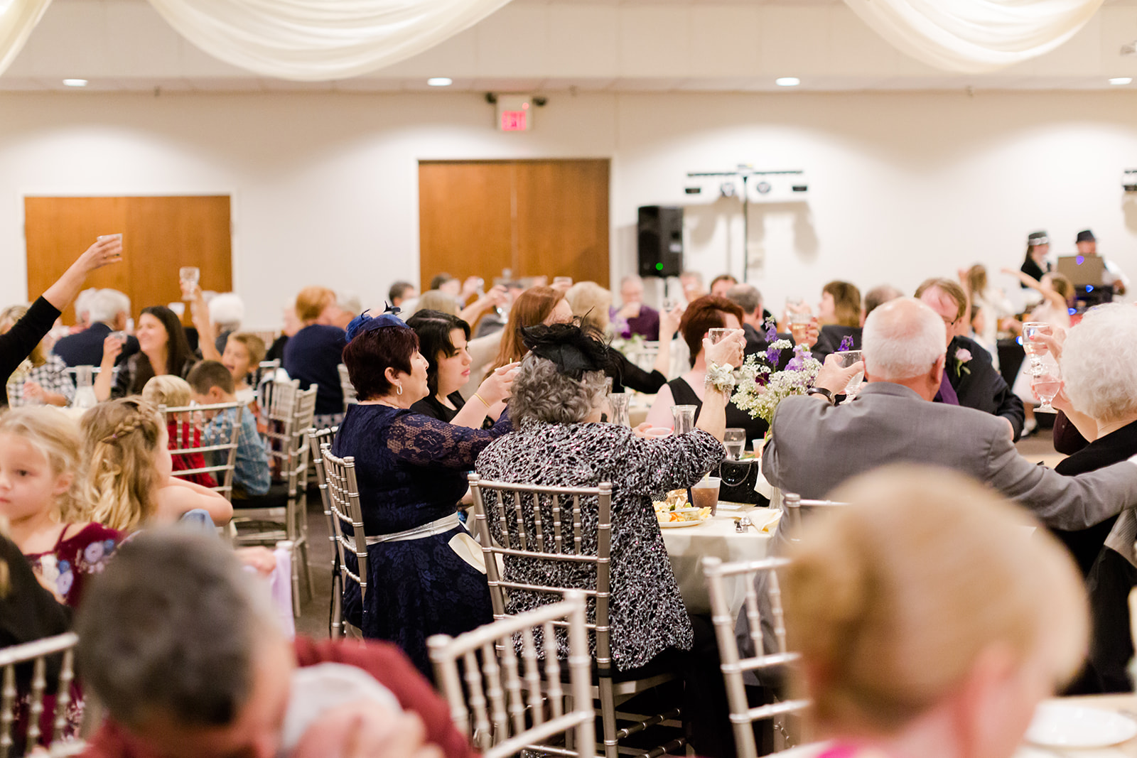 Photo by Lindsey White Photography | Social Events banquet hall at Royal Cliff south metro Minnesota | large space