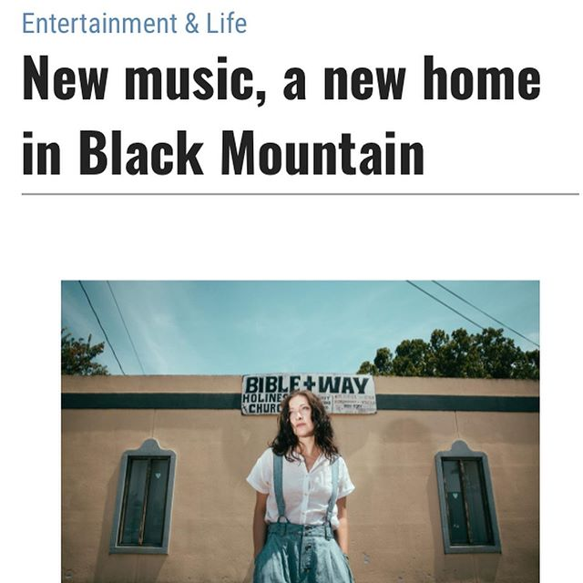 Thanks @blueridgenow for covering our album release show at @isisasheville. Oh yea, we moved to Black Mountain last week too 📦🚛🙈