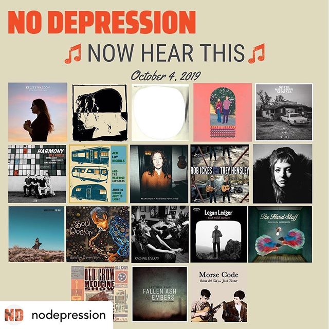 "Thank you @nodepression for featuring ""Medicine For Living"" for #NewMusicFriday! An honor to be in the company of these amazing new releases🍻🙌❤️"