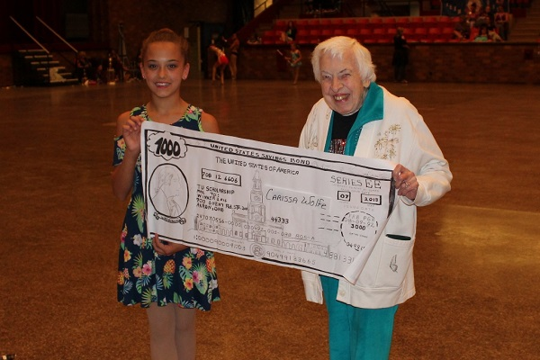 9-11 Scholarship Winner - Carissa Wolfe