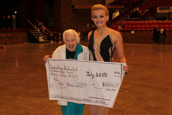 15+ Scholarship Winner - Amanda Coy