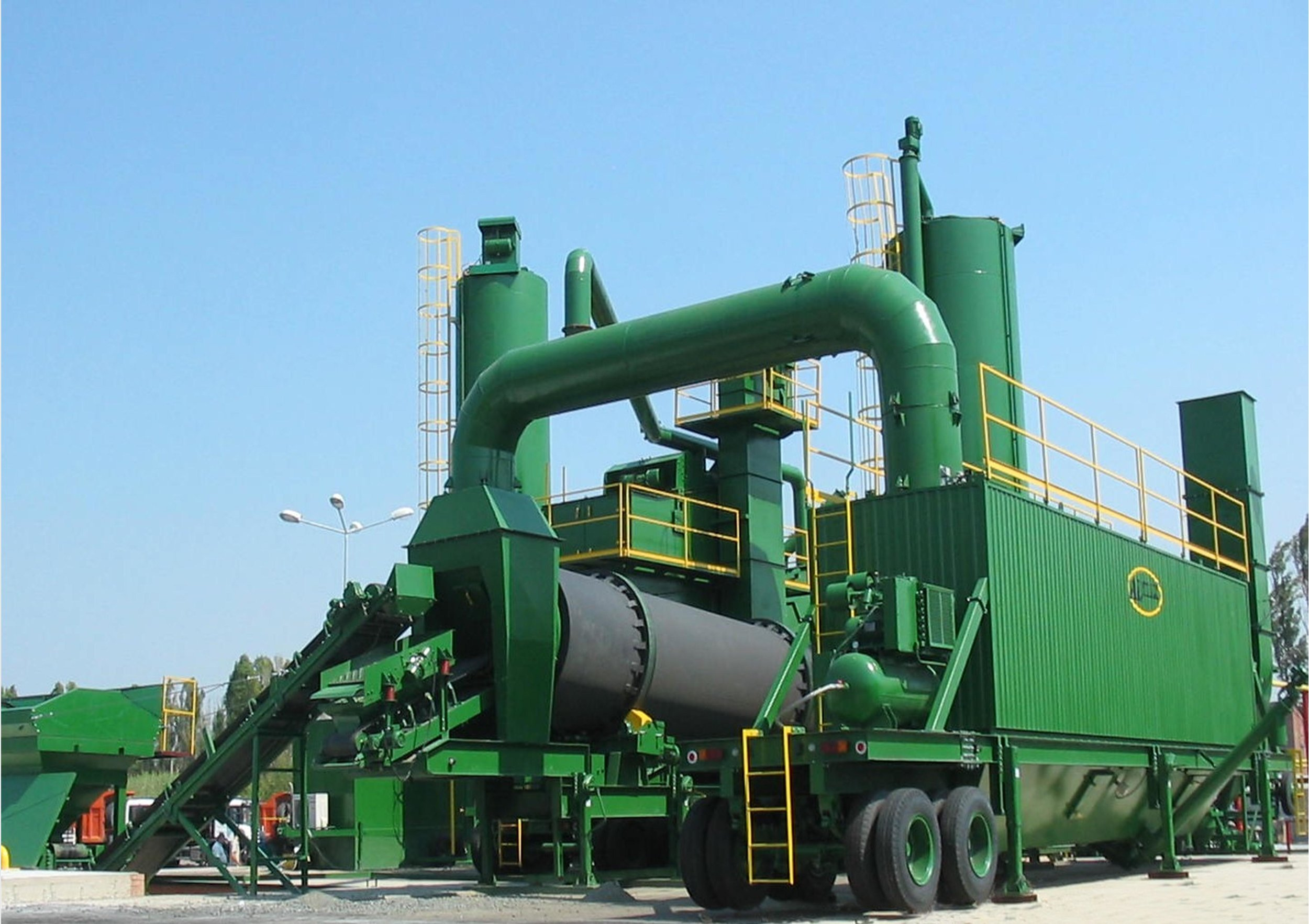 ALMIX tp-2500 Mobile Batch plant