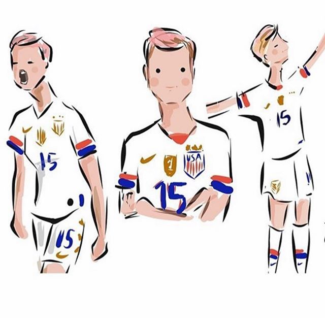 Team USA ⚽️🏆🇺🇸 @sophieandlili #worldcup2019  #womensworldcup