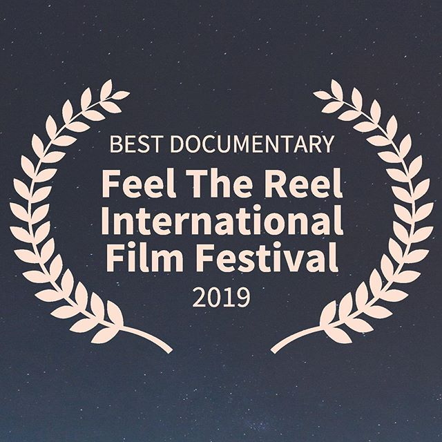 We had a festival win for @istheremorefilm last night, winning best documentary at Feel The Reel International Film festival.  #istheremorefilm #creativedocumentary #feelthereel #filmfestival #bestdocumentary #award #holdontothosehats