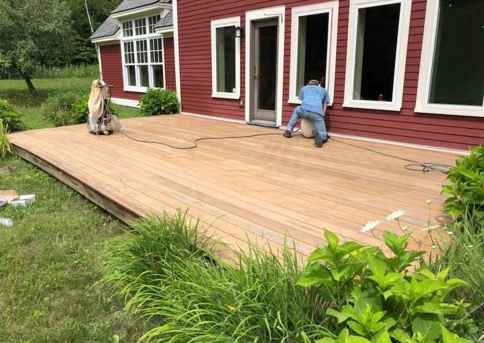 wood flooring deck