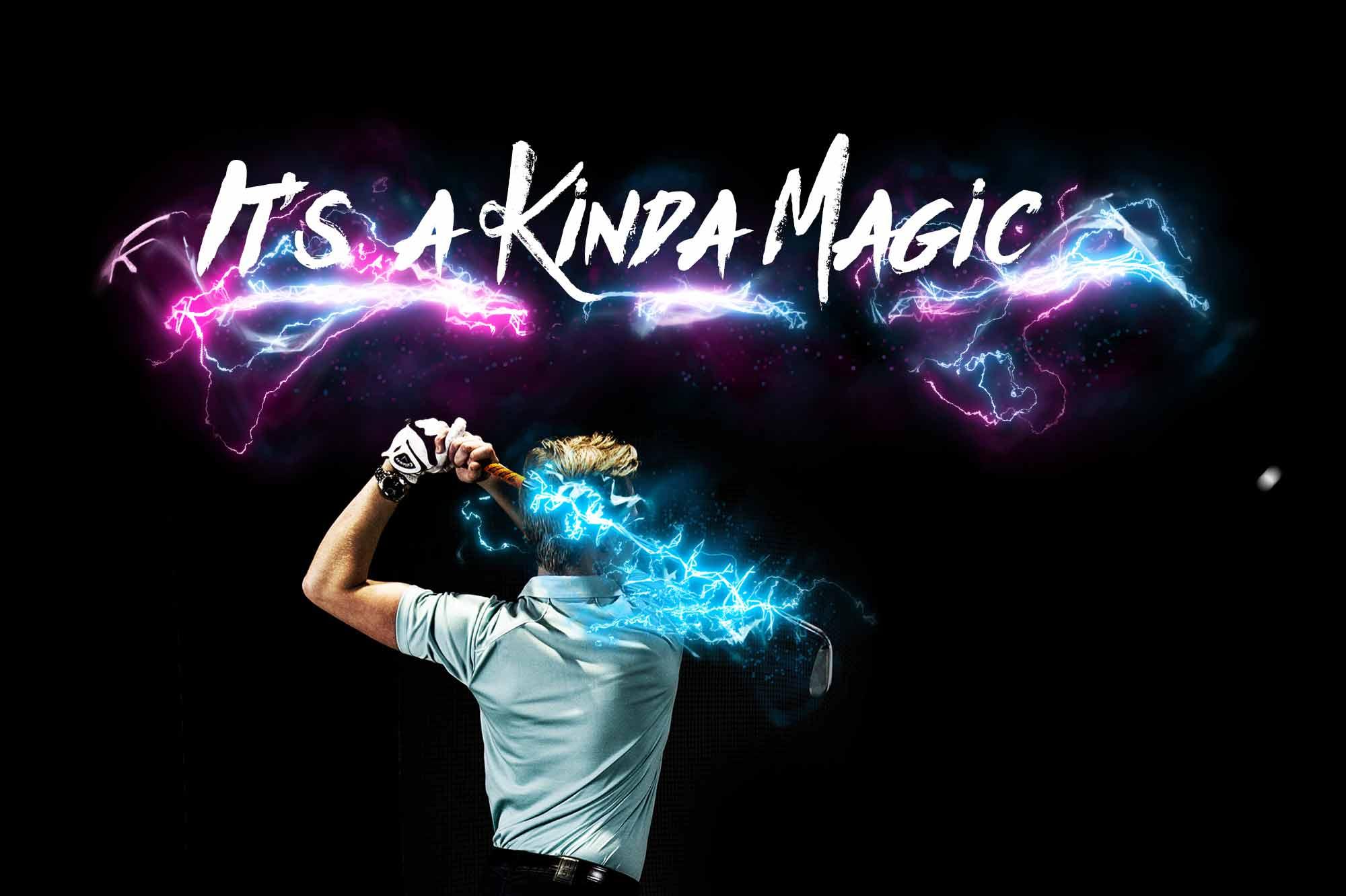 Grooves Golf - It's A Kinda Magic