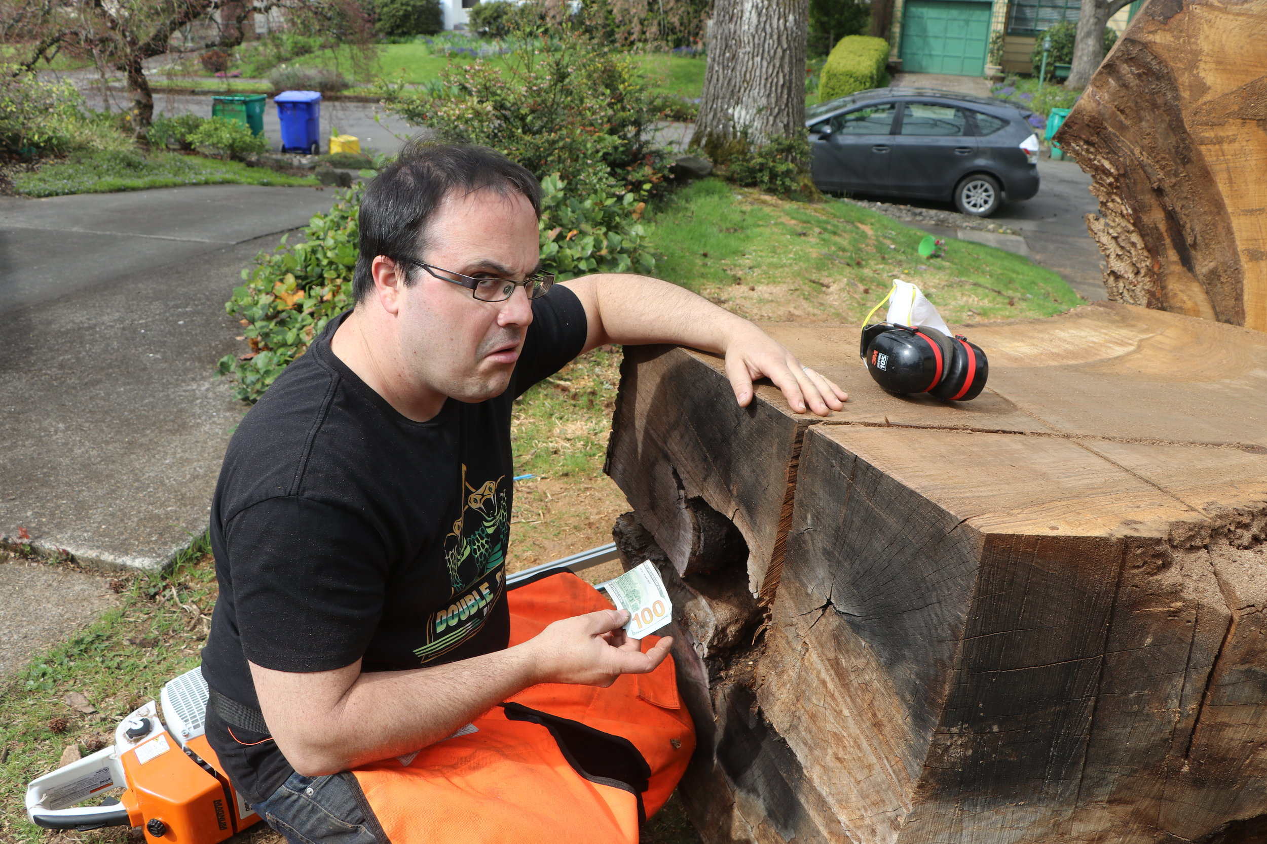 Logs, Chainsaws, and Clarinets with Mark Dubac -