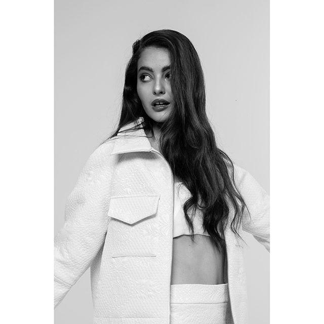 __lines matter FW19 Rielle Jacket & Skirt  model @ascordeau @dulcedomodels  photographer @savcollective  hair & mua @vasilikimakeupartist  assistant stylist @anjel.mtl
