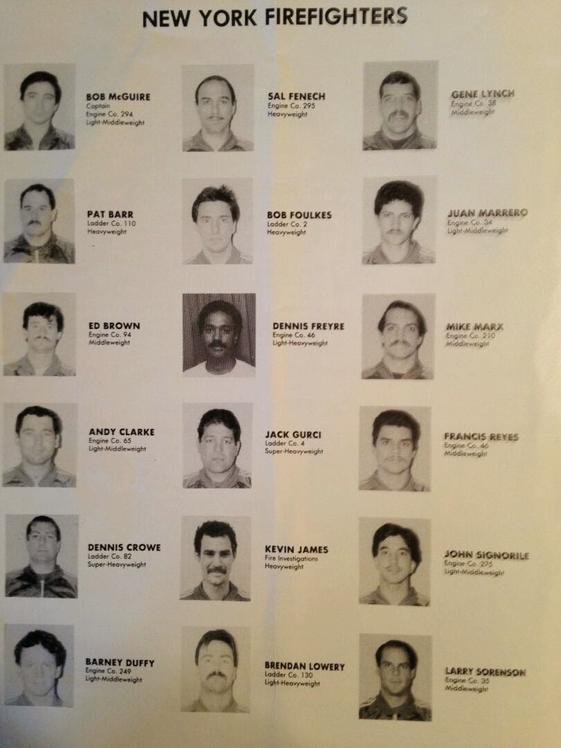 -1984 Bravest Boxing Team-