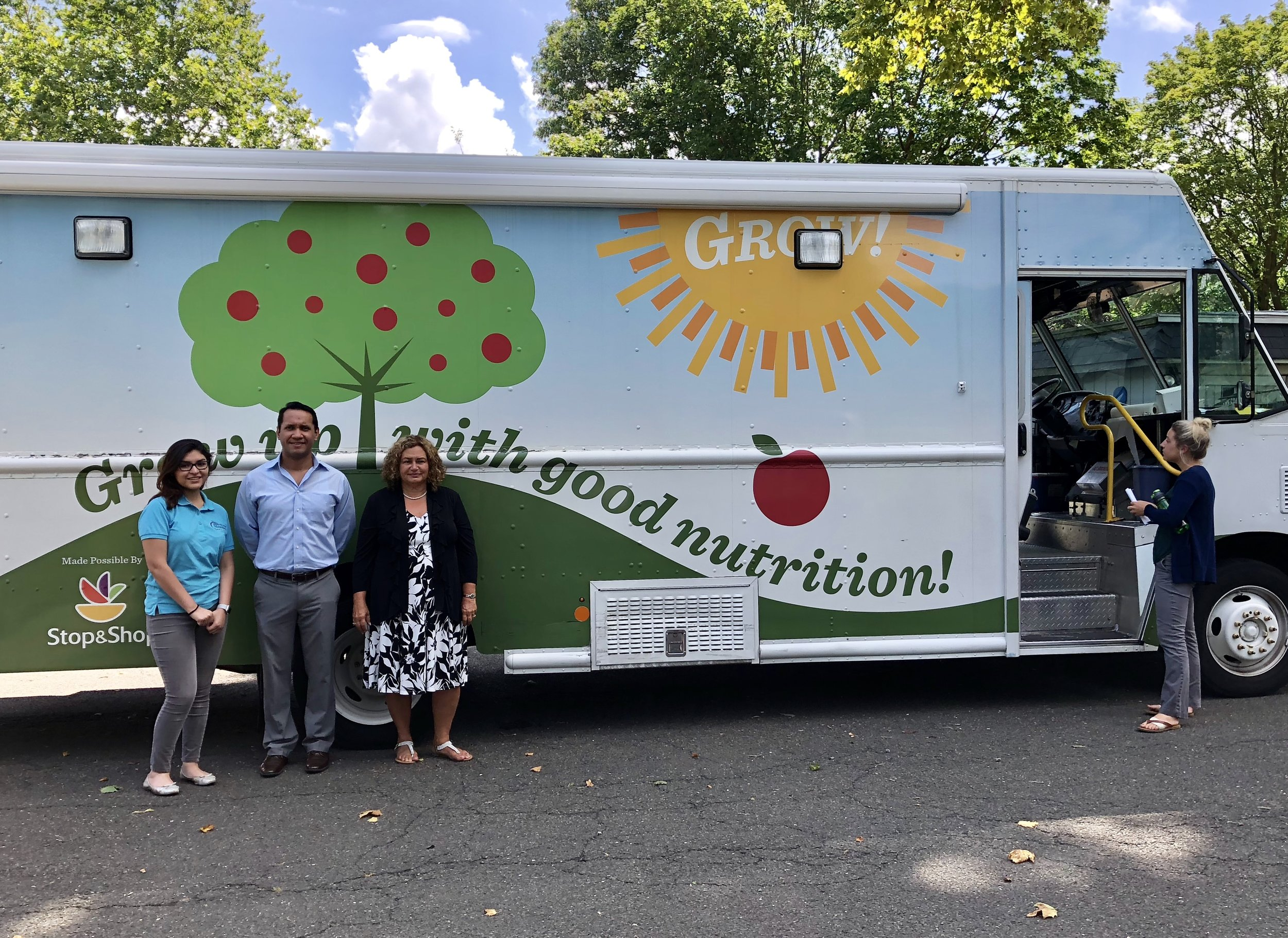 Grow with good nutrition truck