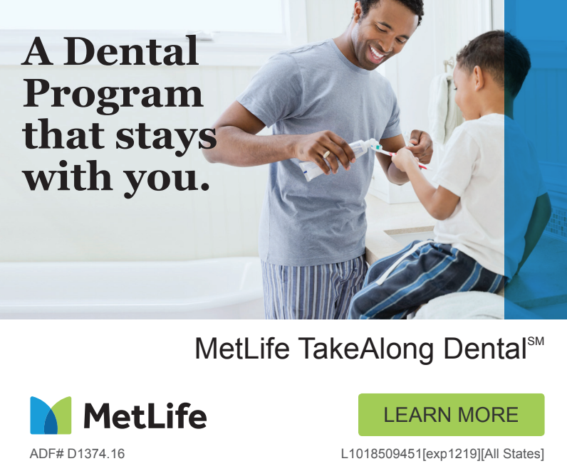 MetLife TakeAlong Dental Insurance