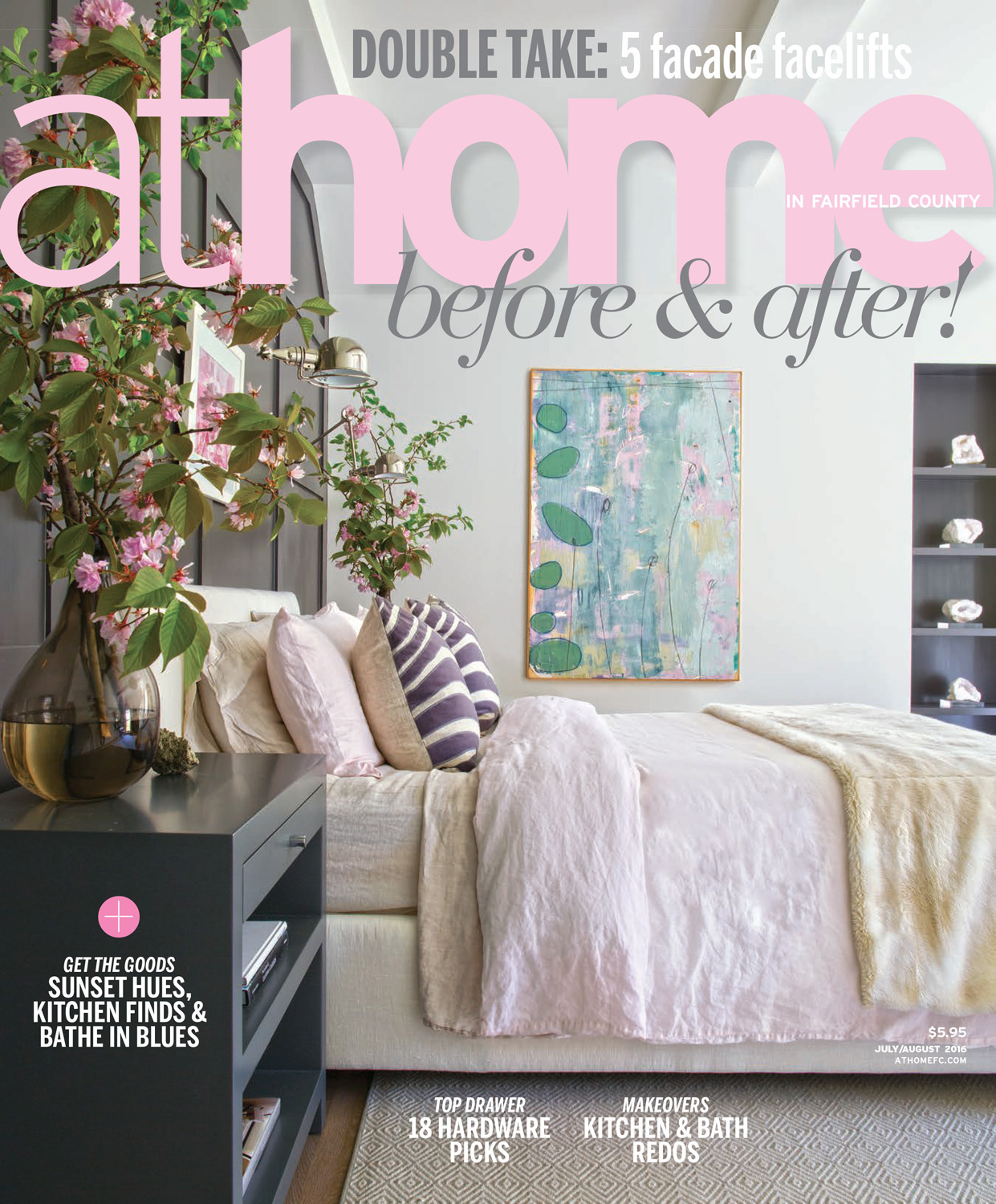 At Home Magazine July/August 2016