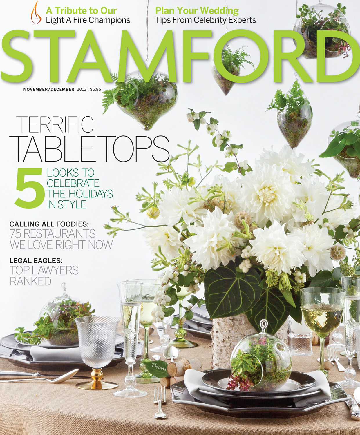 Stamford Magazine Nov/Dec 2012