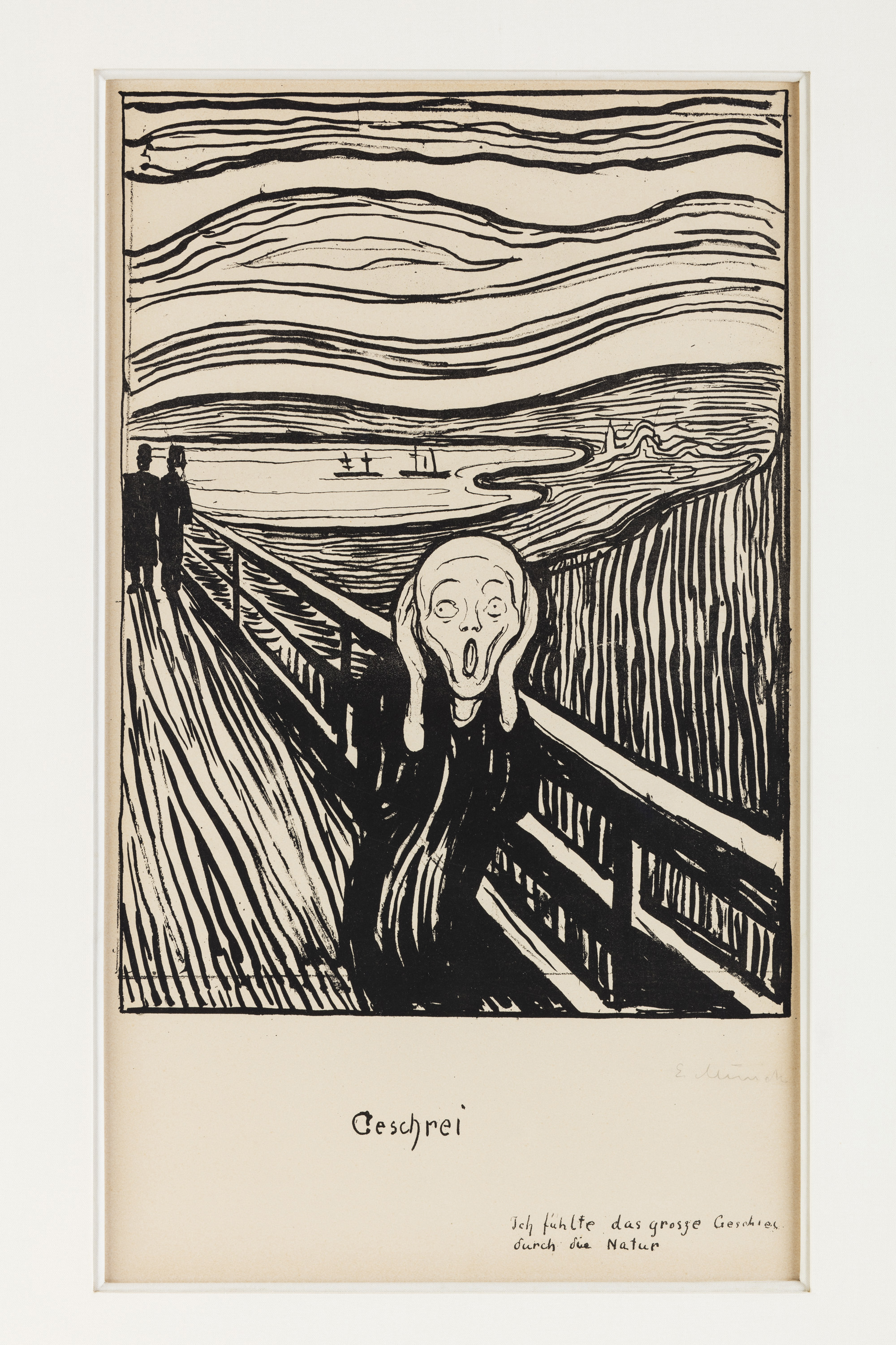 Scream, Edward Munch. Photographed for Nelson Blitz
