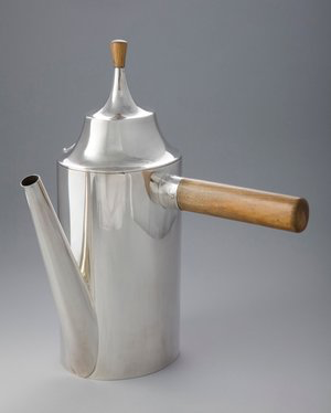 Coffee Pot, Joseph Hoffman. Photographed for Neue Galerie, New York