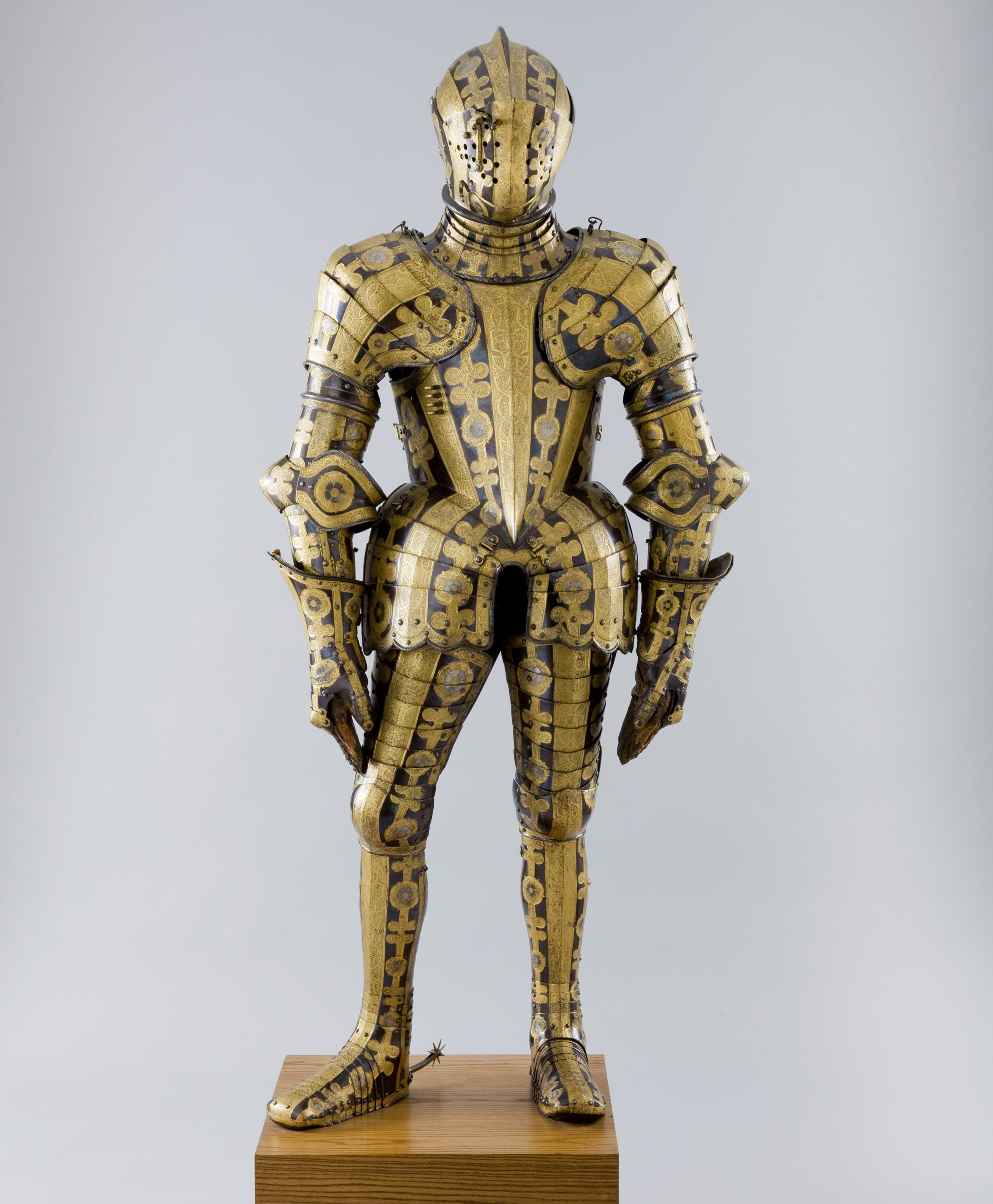 Armor made for the Duke Friedrich Ulrich of Brunswick, Greenwich, 1610-13. Photographed for Neue Galerie, New York