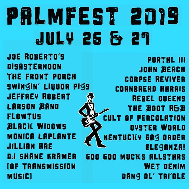 Here we go! #palmfest #WestBank MInneapolis