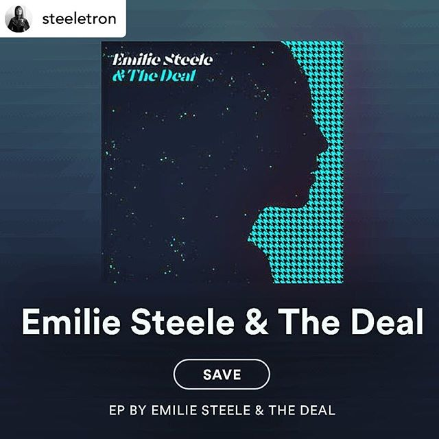 Tonights the night kids 💐 Posted @withrepost • @steeletron EP RELEASE DAY!! ☺ Now streamable on @bandcamp, @spotify or enjoy it LIVE tonight @thegradclub!! . . . . . . . . #newmusic #eprelease #cbcmusic #cancon #emiliesteeleandthedeal #houndstooth #livemusic #whatisyourfavouritesong #ygkmusic #musician #streamdream #supportlocal