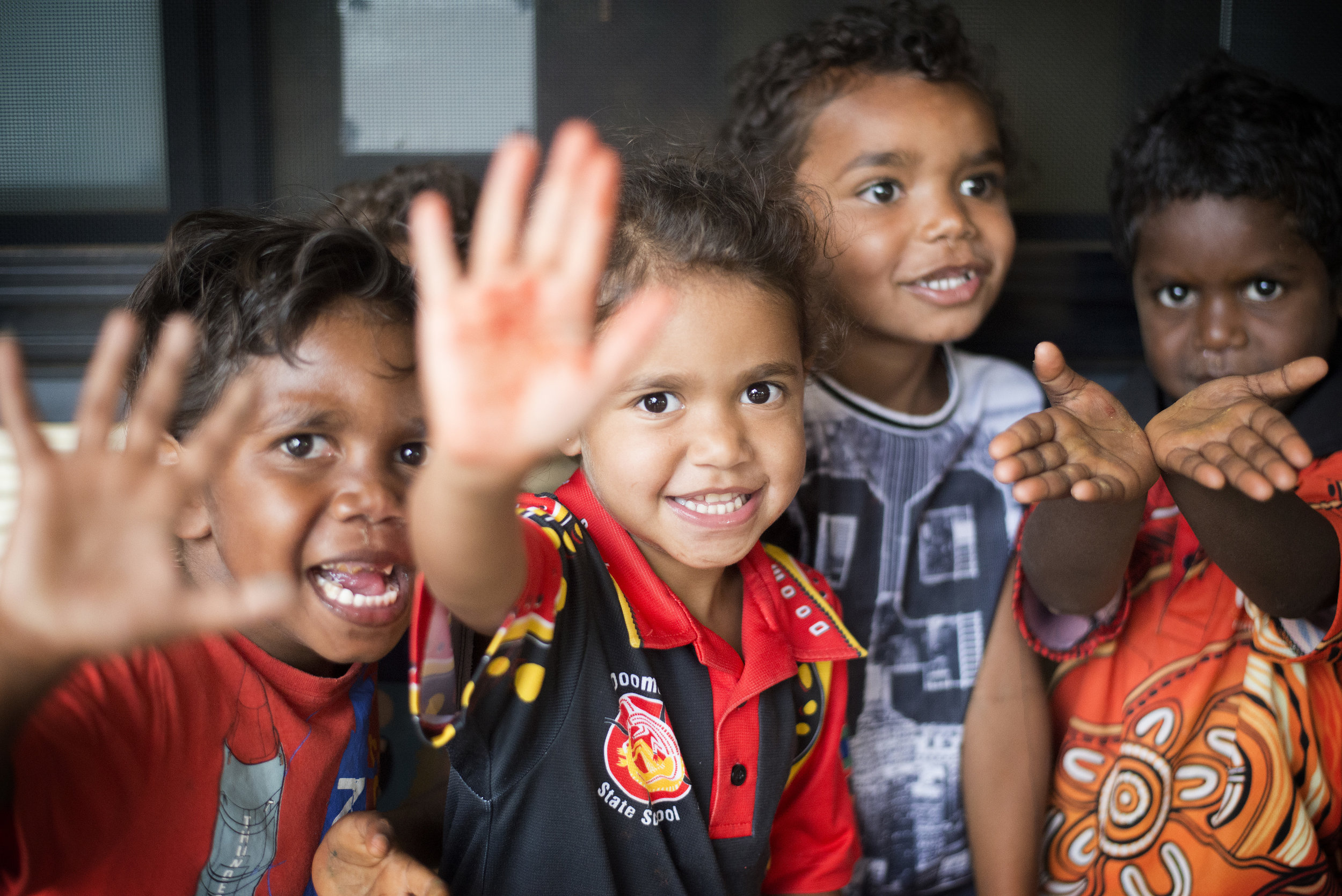 Early Childhood program. Gulf country, Queensland. 2016.