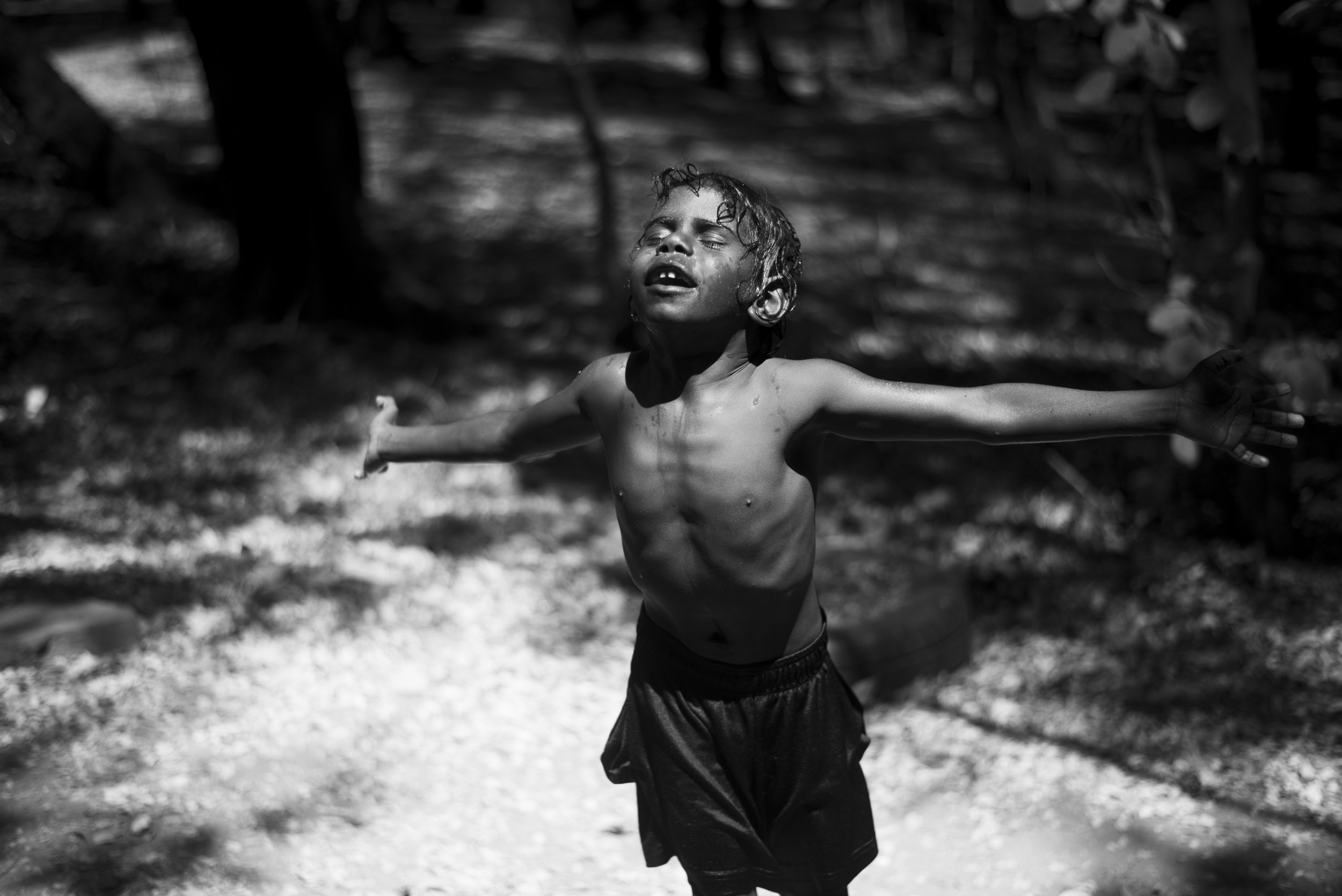 Early Childhood program. Gulf country, Queensland. 2017.