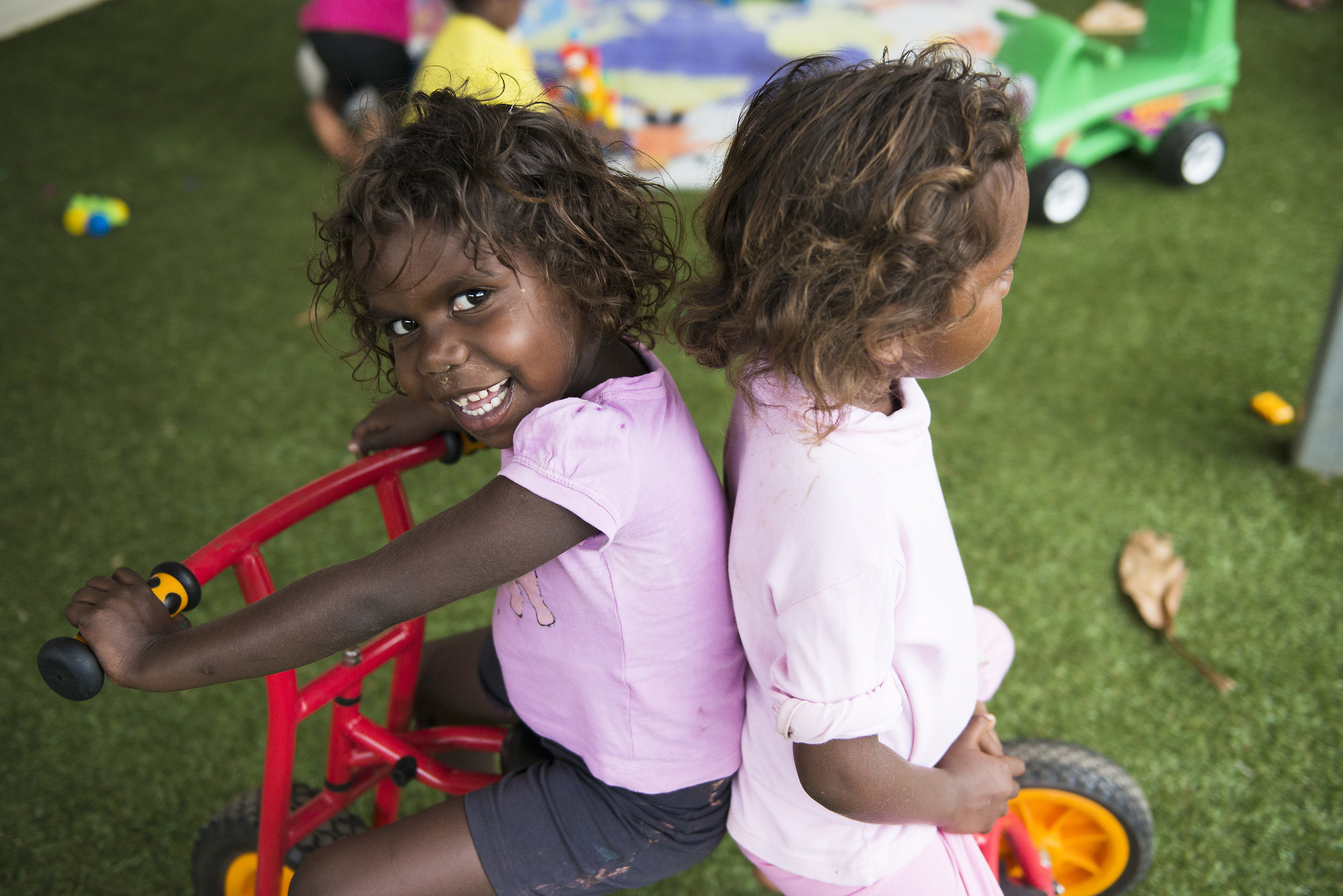 Early Childhood program. Mornington Island, Queensland. 2016.