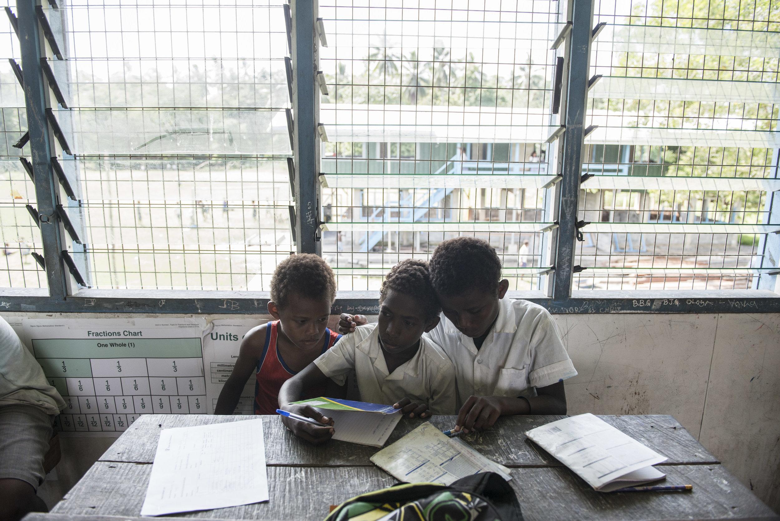 Child Protection project. Guadalcanal, Solomon Islands. 2016.