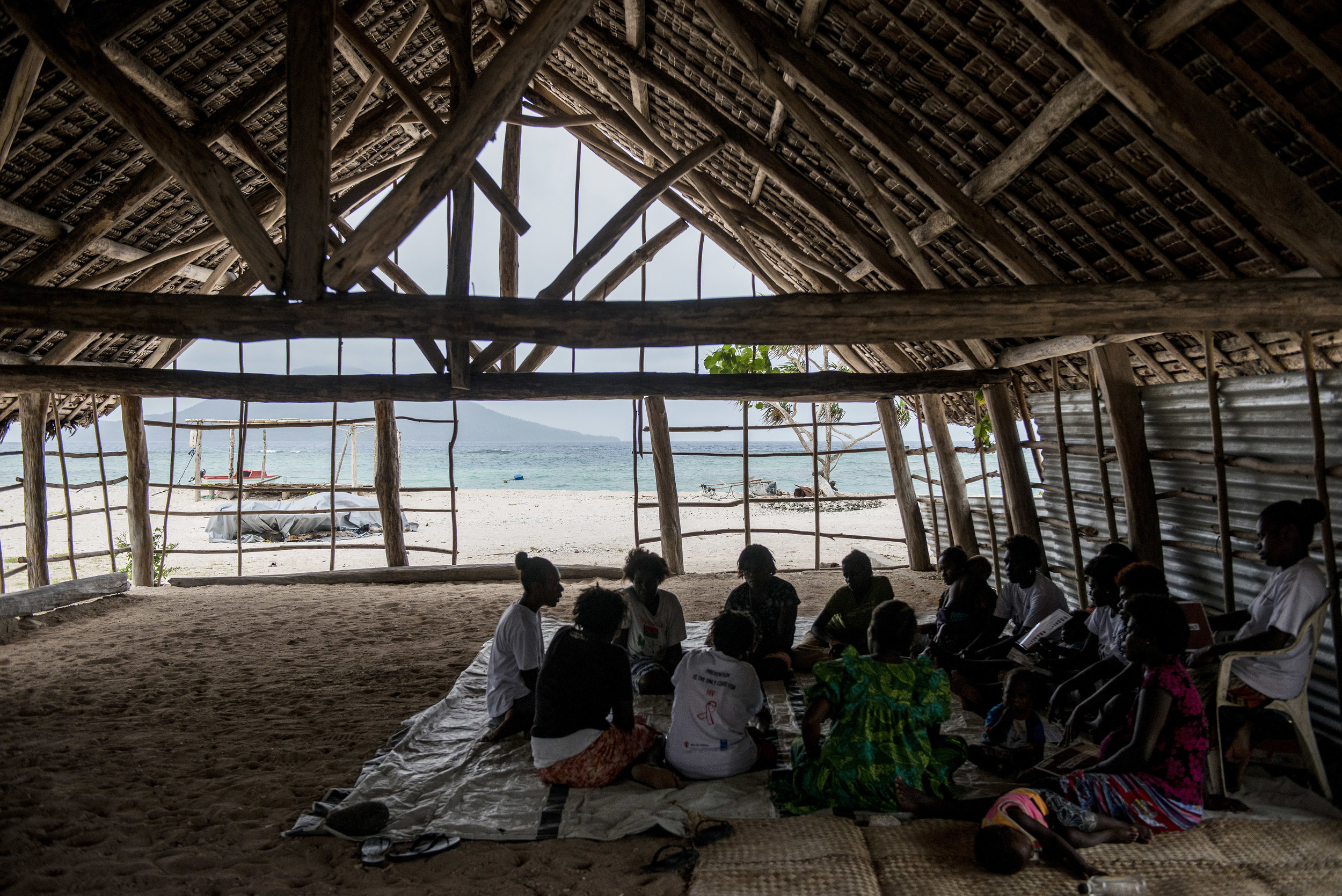 Sexual and Reproductive Health project. Efate, Vanuatu. 2017.