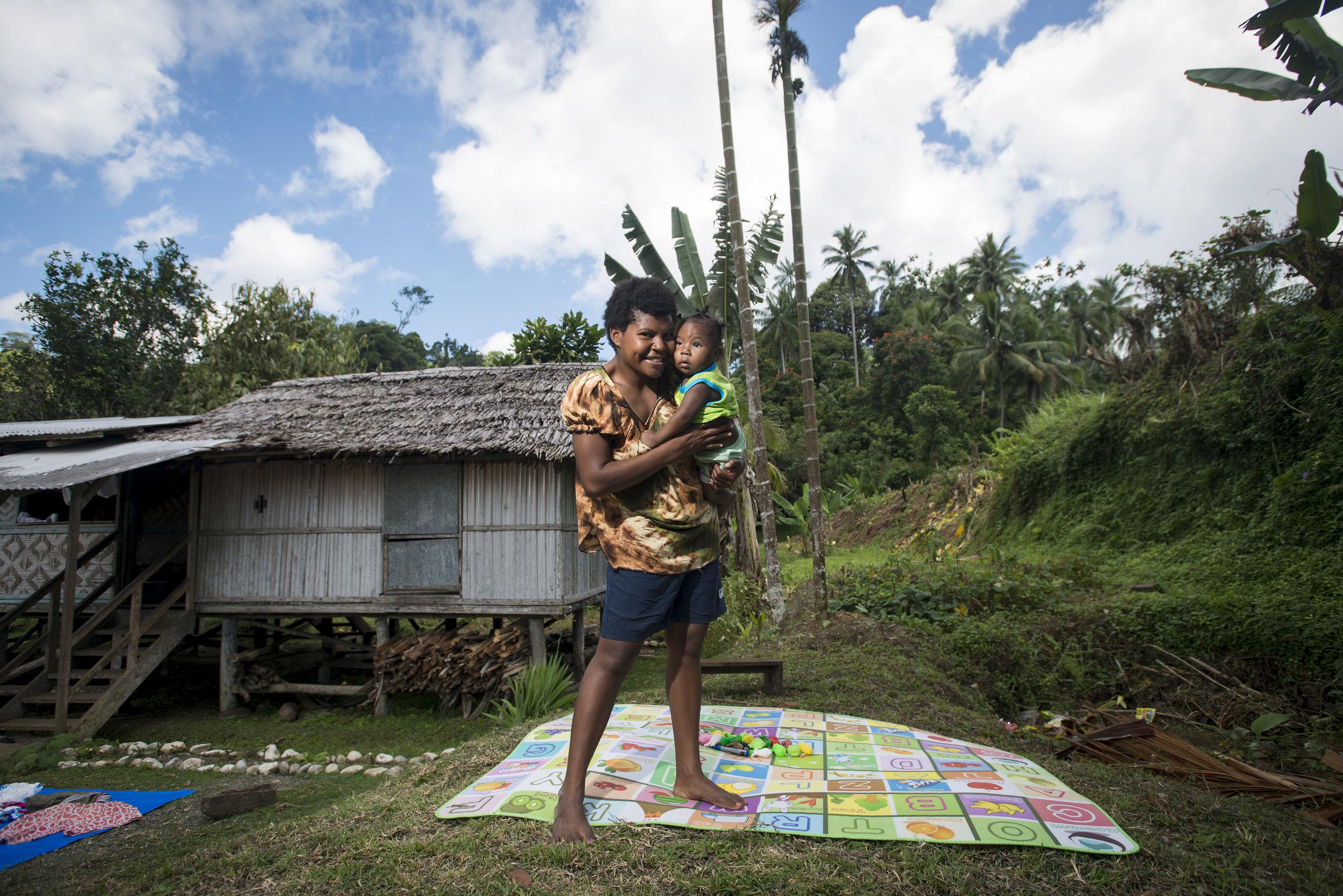 Birthing Kit project. East Sepik, PNG. 2018.