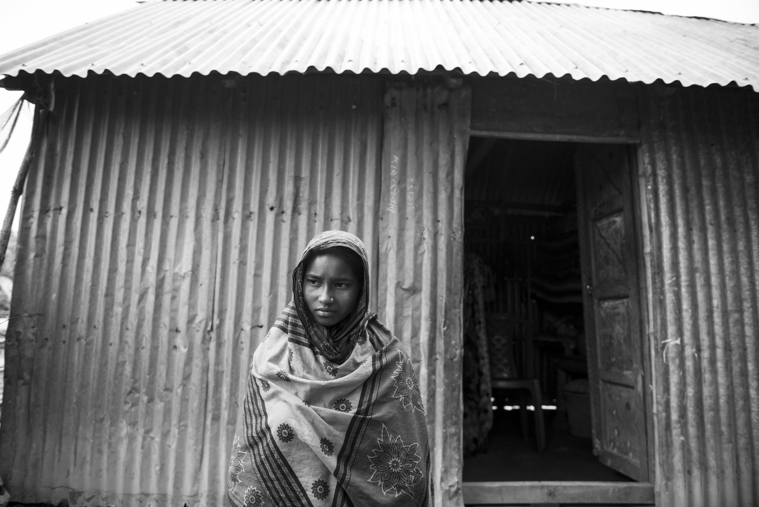 Early marriage project, Daulatdia brothel. Bangladesh. 2014.