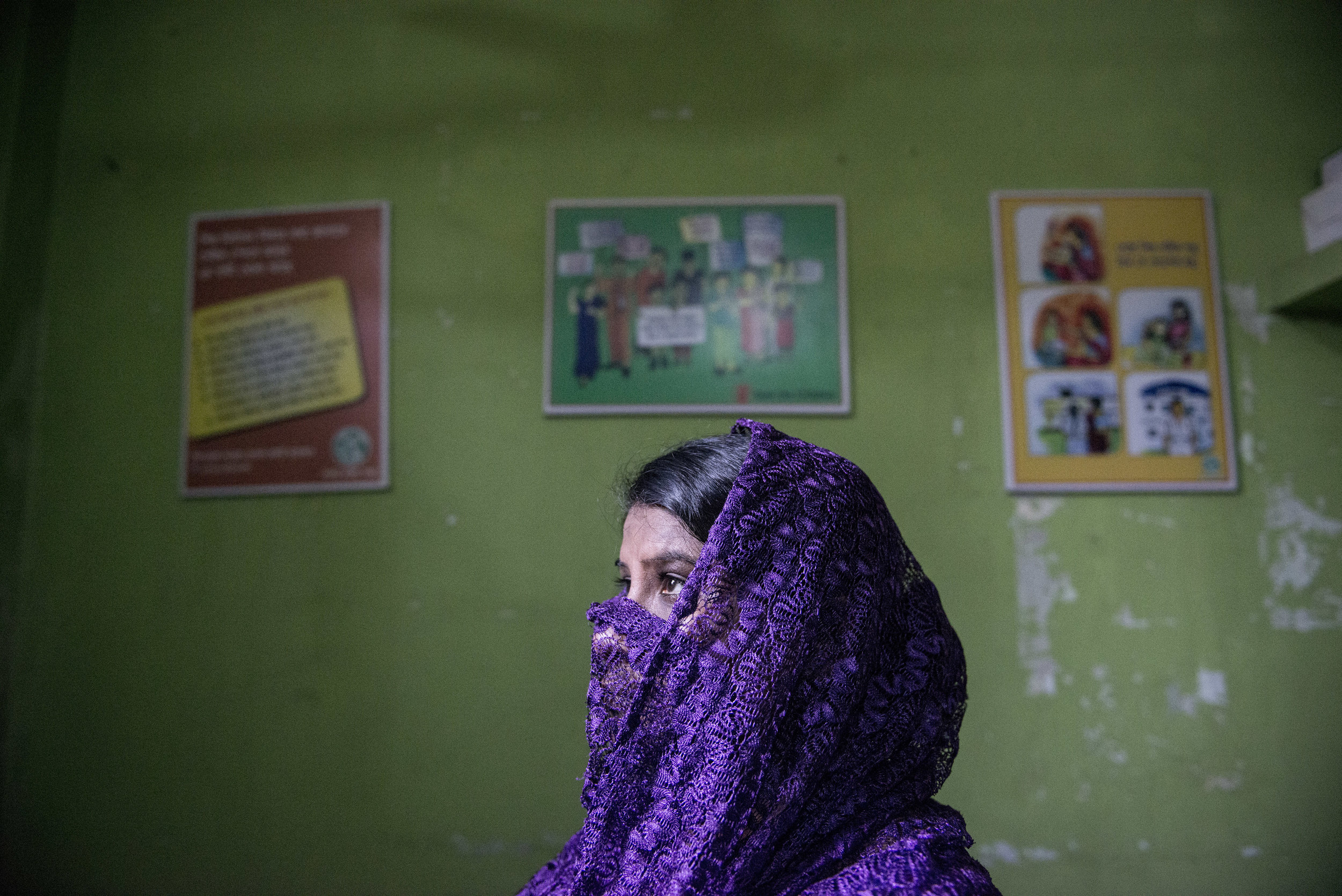 Brothel safe house. Faridpur, Bangladesh. 2014.