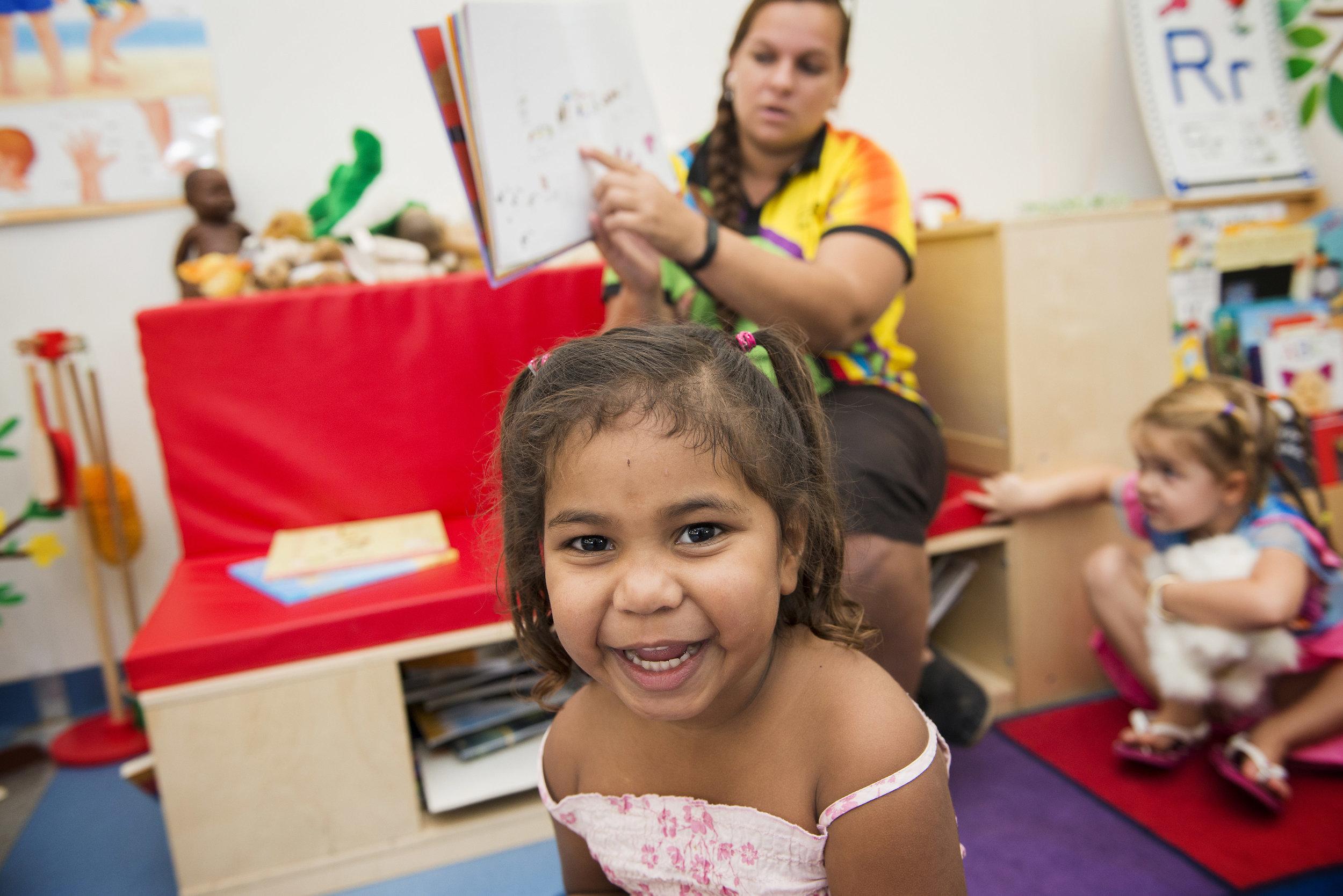 Early Childhood program. East Kimberly, Western Australia. 2015.