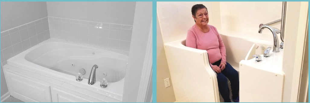 A Walk-In Bathtub will change the look and feel of your bathing experience!