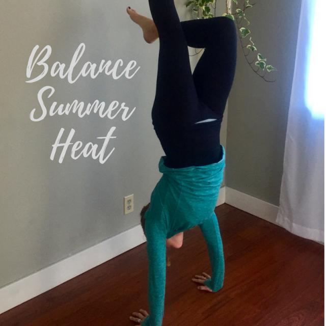 balancing summer heat