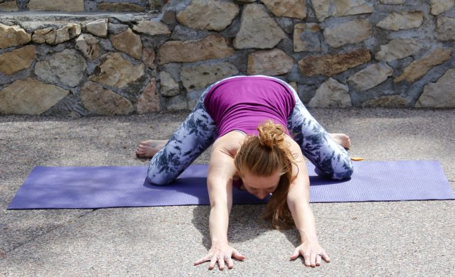 yin yoga, heart and lung meridians