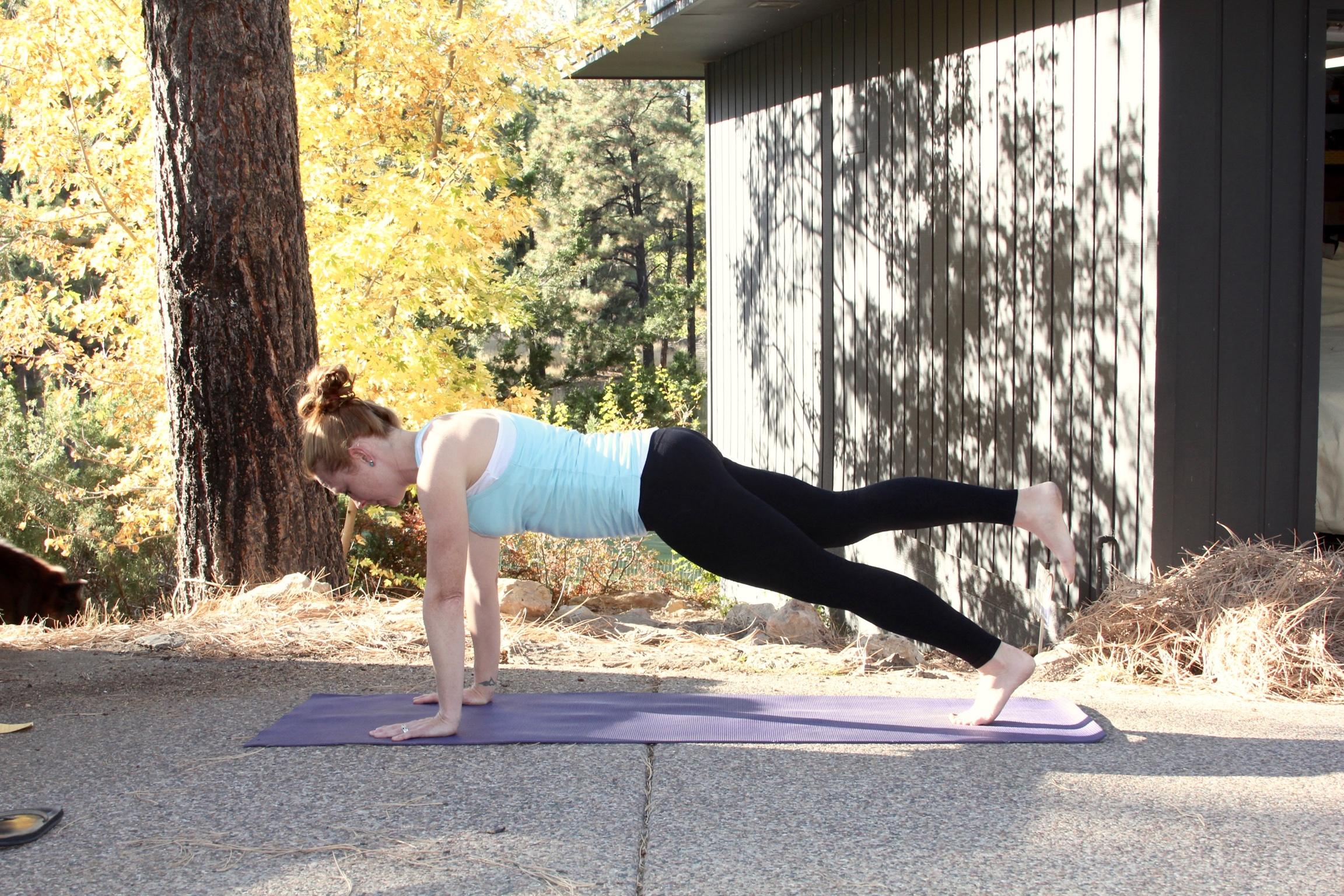 Cross Training Yoga Workout