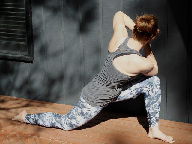 post run yoga sequence