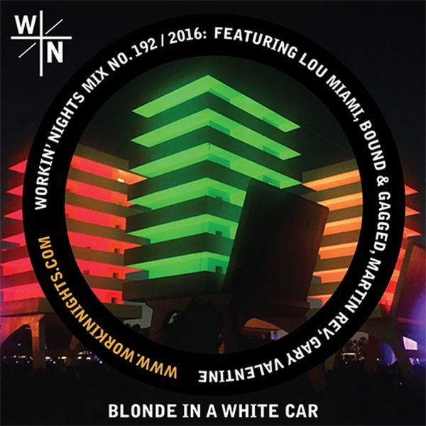 192: BLONDE IN A WHITE CAR