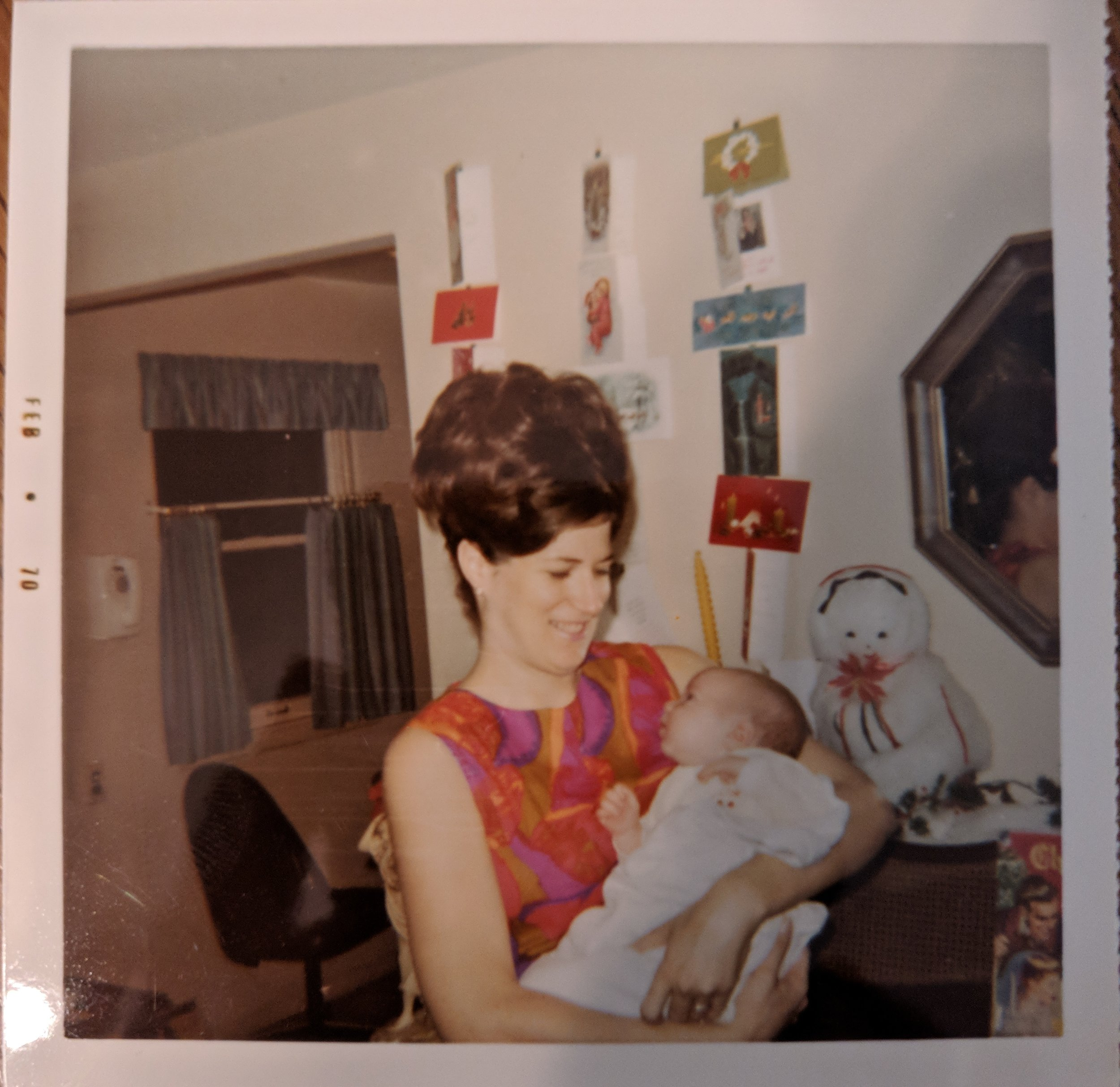 Picture of me with my mom, when I was 3 months old. Thank you mom, for everything!