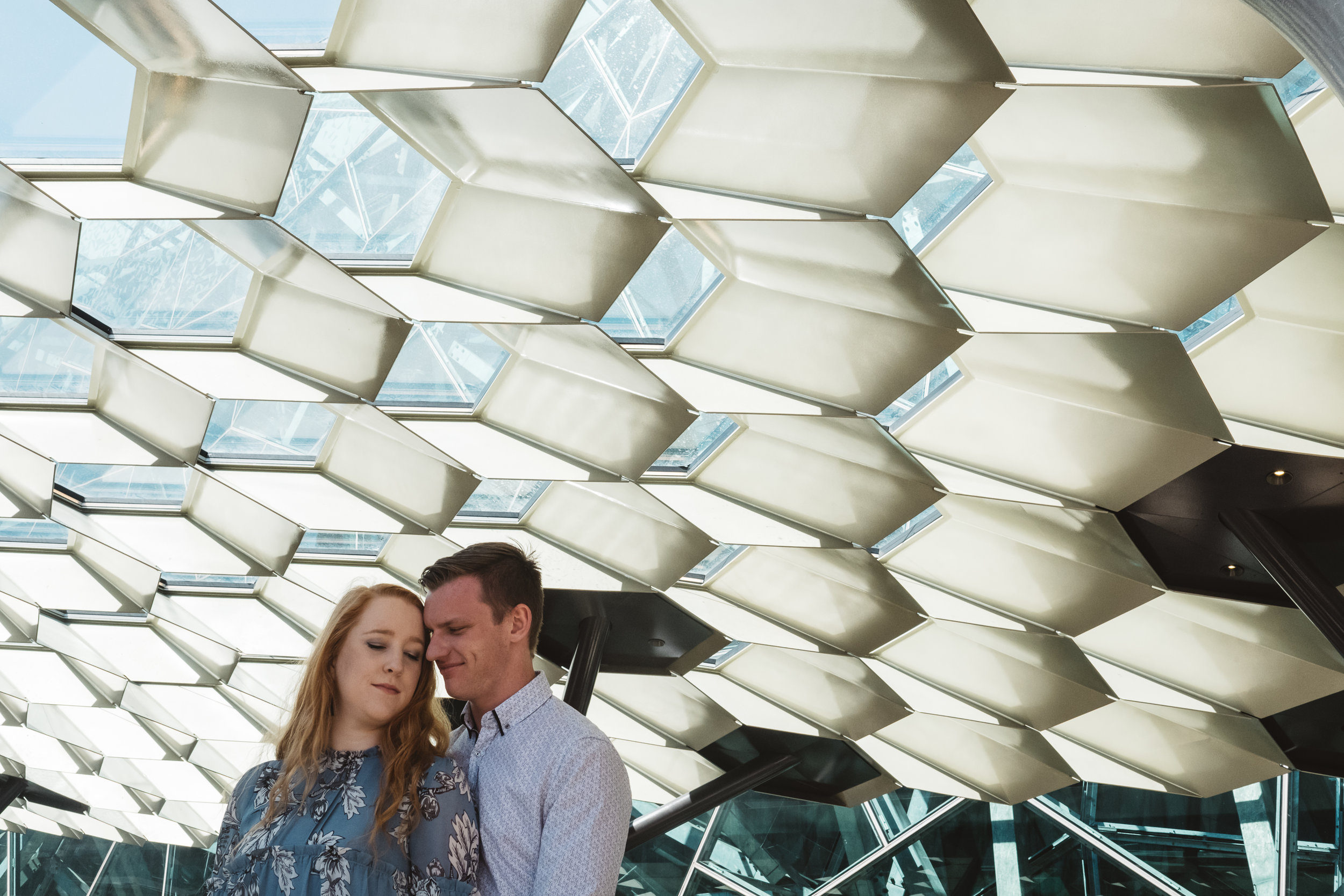 pre wedding photography in federation square melbourne cbd