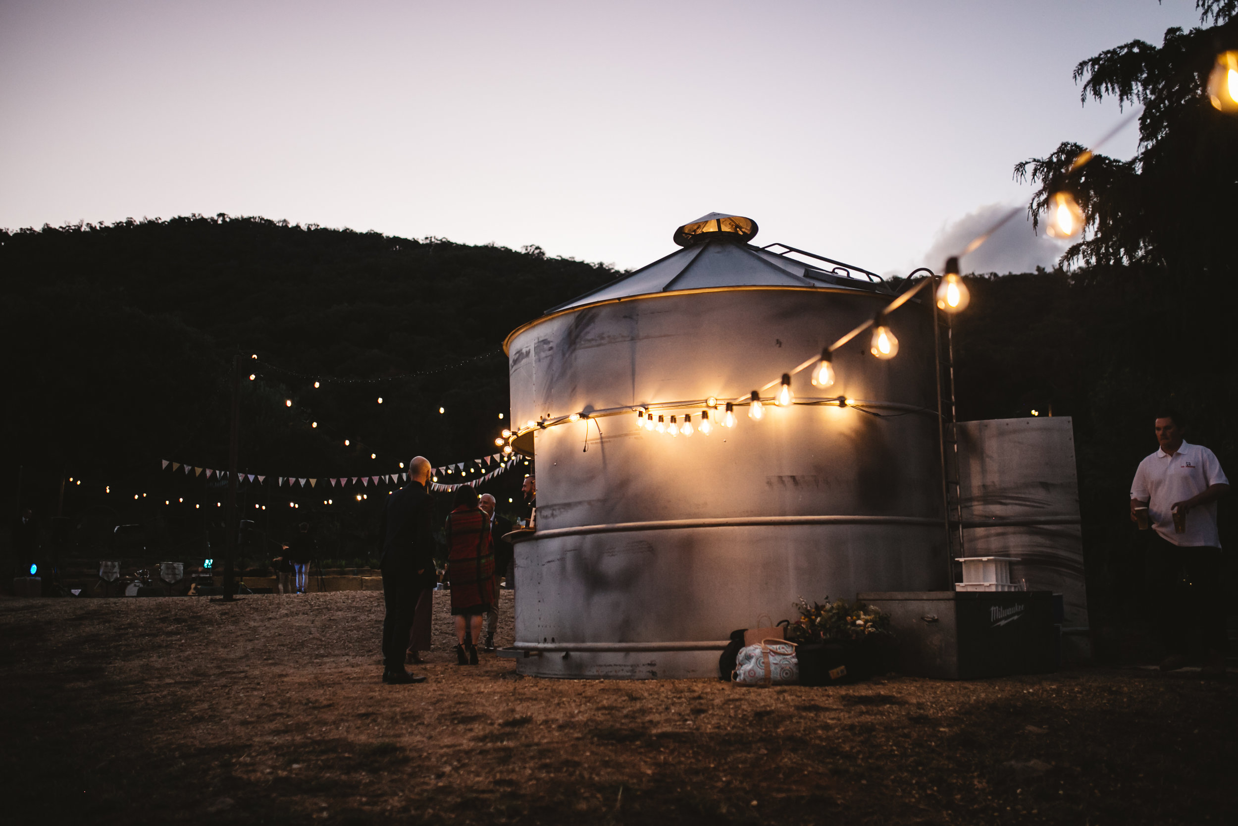 Rustic outdoor wedding venue mornington