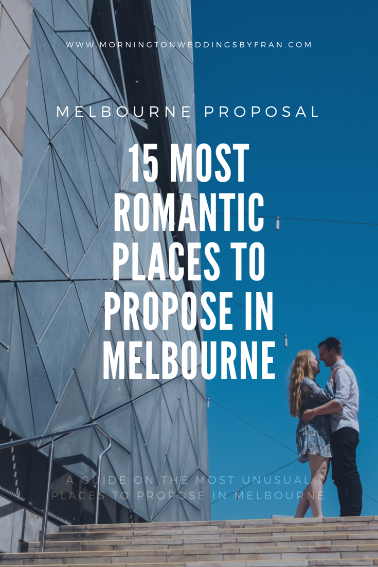most romantic places in melbourne cbd