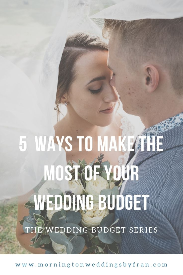 Mornington wedding and budget planning for your wedding day