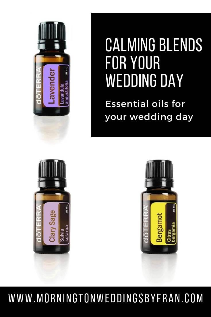 Mornington wedding essential oil