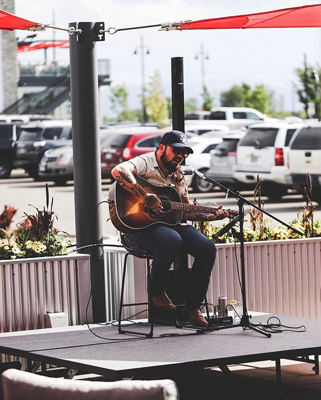 Tonight's live music on the patio features local musician @mattmerrillmiller so come on down and enjoy this beautiful weather with us! #cheers #bozeman #weekend #montana #livemusic
