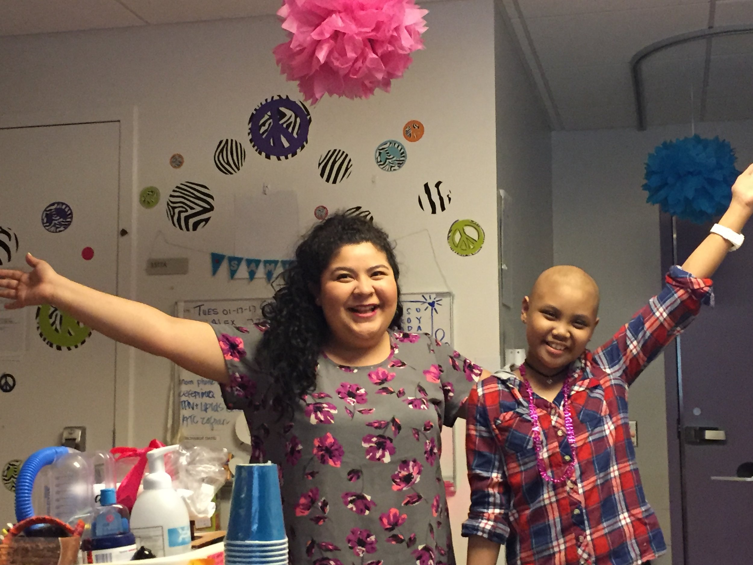 You hosted an awesome party…tell us about it! - We need to know each time you are invited to participate in a hospital birthday party!