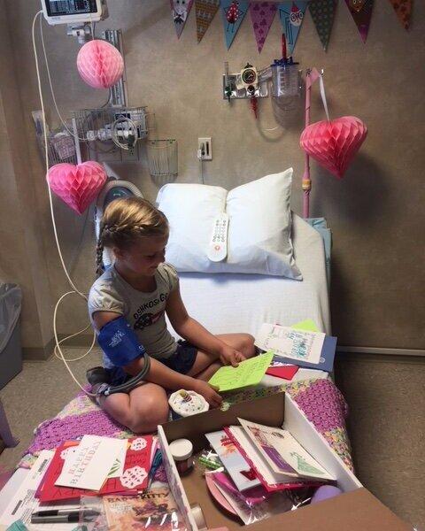 birthday in the hospital