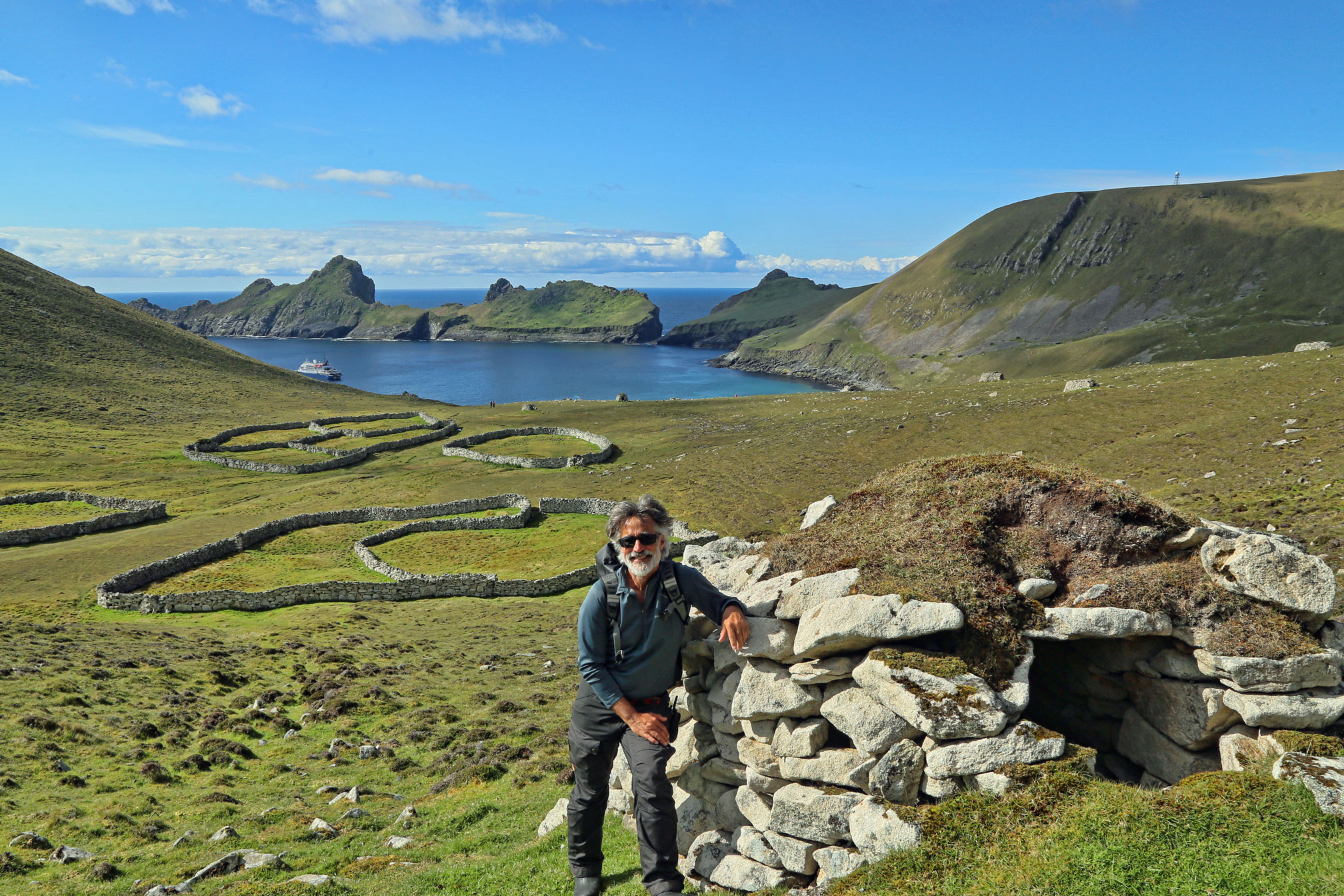 Two thousand year old archaeology at St. Kilda.