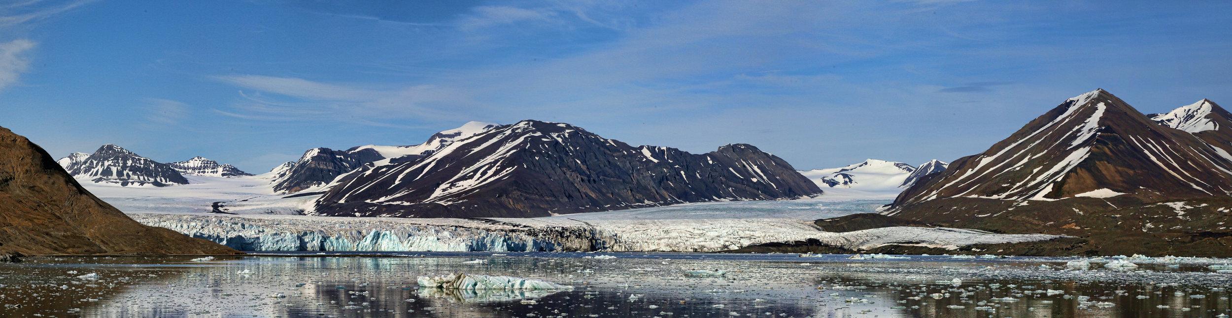 Lilliehöökbreen glacier complex