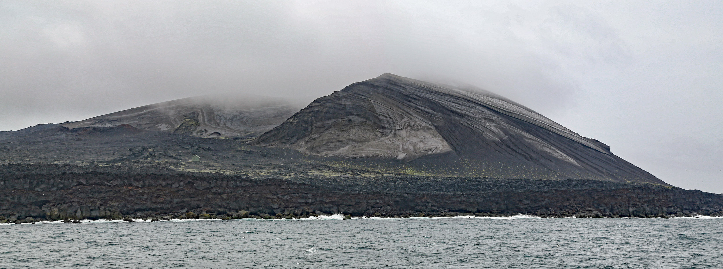 Surtsey volcano in the Vestmannaeyjar archipelago off southern Iceland.