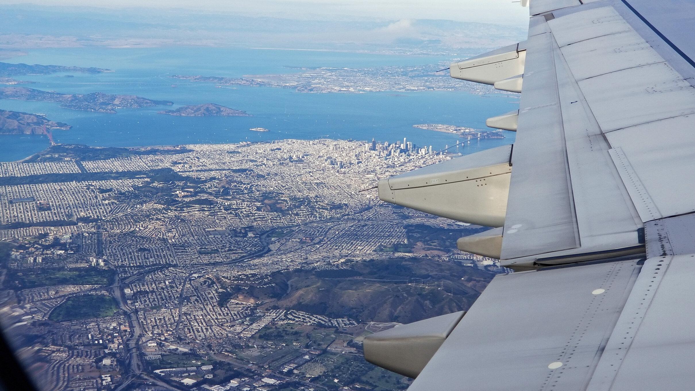 Arrival at San Francisco.